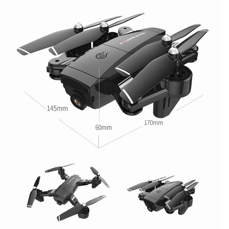 Professional Optical Flow Positioning Sefile WIFI Real Time RC Helicopter 20 Mins 1080P Dual Camera One Key Return FPV RC Done - 6