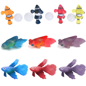 Fluorescent Artificial Fish To