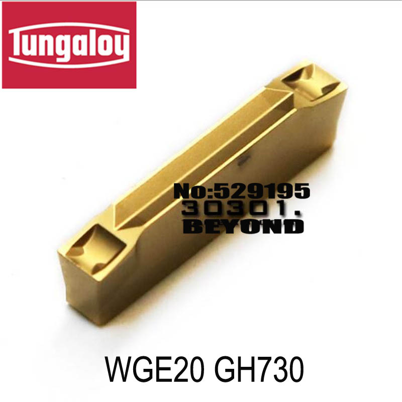 WGE20 GH730 WGE30 GH730 WGE40 GH730 WGE50 GH730 cutting insert original tungaloy tungsten carbide insert 2mm
