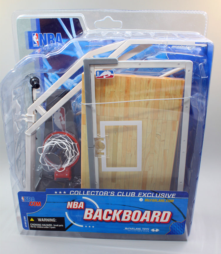 ФОТО Hot Sell High Quality One Piece Toys Exclusive Brinquedo McFarlane NBA Series 5 Backboard Action Figure for 6'' action figure