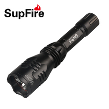 SupFire Y3 Cree Q5 350 Lumen Waterproof IP67 5 Modes LED Flashlight Rechargeable Torch by 18650