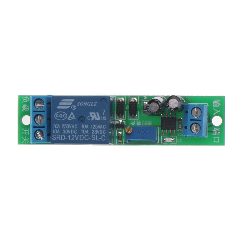 DC 12V Signal Trigger Delay Turn Off Delay Timer Switch Relay Module 0-25s L15 1pc timer delay relay delay turn on delay turn off switch module with timer dc 12v