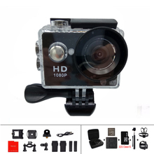 A9 extreme helmet mini sports action camera with full hd 1080P 5MP 2 0 LCD under