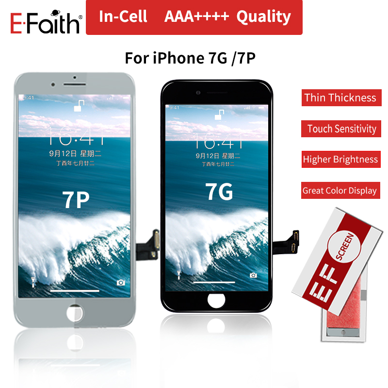 E-Faith Incell-Display 8-Screen iPhone High-Brightness Touch for 7 7g/7p 8-Plus Lcd