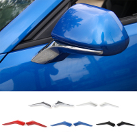 SHINEKA ABS Carbon Fiber Side Door Rearview Mirror Trim Cover for Chevrolet Camaro 2017+ Car Styling Exterior Accessories