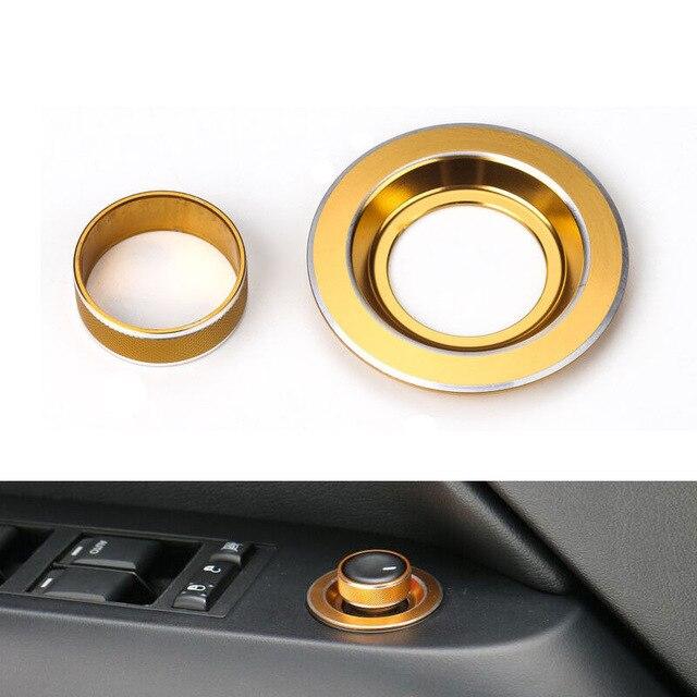 YAQUICKA 2pcs avtomobilsko stikalo za vzvratno ogledovanje gumba - Dodatki za notranjost avtomobila - Fotografija 4