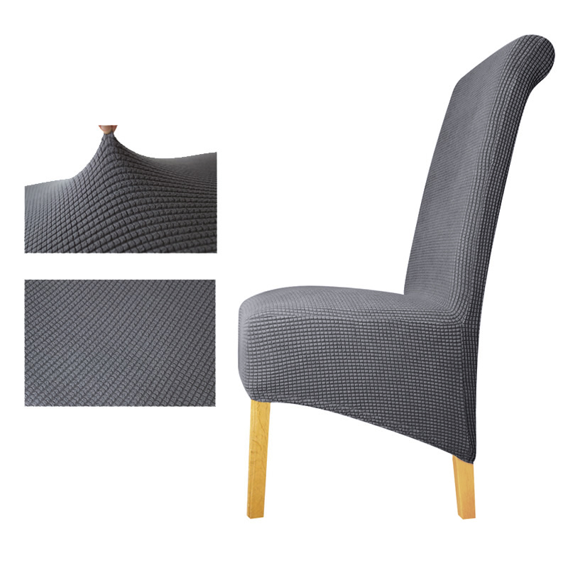Tremendous Us 9 9 30 Off Polar Fleece Fabric Xl Size Long Back Plaid Chair Cover Seat Covers Chair Covers Restaurant Hotel Party Banquet Housse De Chaise In Andrewgaddart Wooden Chair Designs For Living Room Andrewgaddartcom