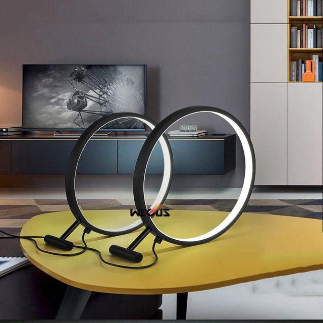 Запатентованная конструкция, увеличительное стекло настольная лампа, кабинет/офис/спальня круглый СВЕТОДИОДНЫЙ светильник. черный/Белый Опционально