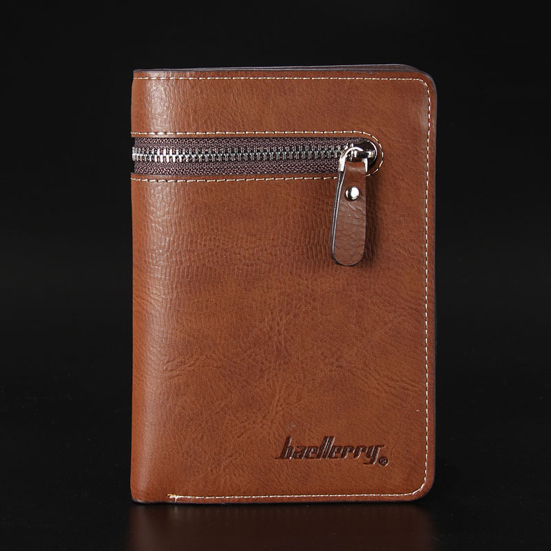 Fashion mens wallets coin purse male zipper pocket coins purses baellerry man wallets coin pocket zipper real mens genuine leather wallet with coin high quality male purse cartera 208 pa3usd 659piece colourmoves