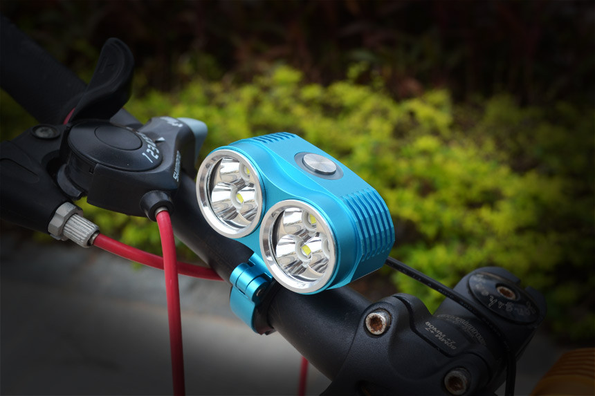 Bike Light Waterproof Flashlight for Bicycle Handlebar LED Bike Lihgts 10000lm T6 Bicycl ...