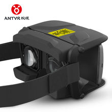 ANTVR JiTao Foldable Cardboard 3D VR BOX VirtualReality Headset Helmet 100FOV IPD Adjustable Distortion-free for 4.5-6inch phone
