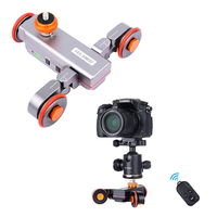 Yelangu L4 Motorized Remote Control Dolly Slider Video Electric Rail Track Slider For DSLR Canon Nikon Gopro Camera Smart Phone