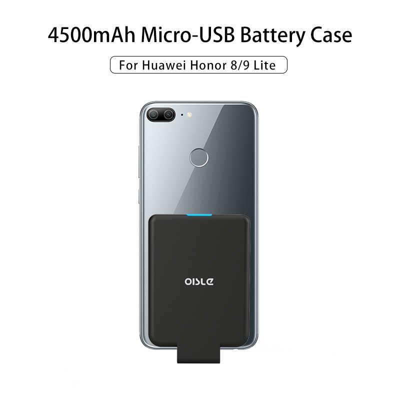 4500mAh Smart Power Bank For Honor 8 9 Lite 7A Pro 8X Huawei