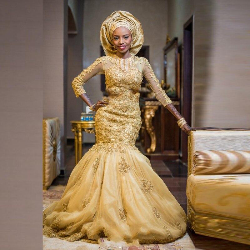 Popular Gold Wedding Dresses-Buy Cheap Gold Wedding Dresses lots ...