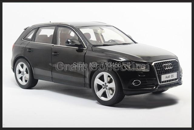 Kyosho Car Model Audi Q5 1:18 Black Luxury Vehicle Simulation Model Cross Country Vehicle Off-road Vehicle