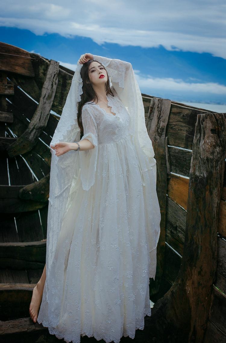 Vintage Jurk Avondfeest Vestido 18