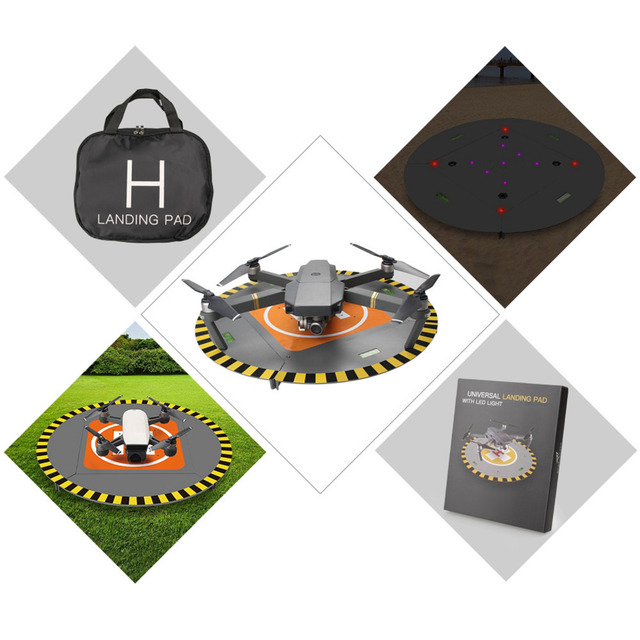 For DJI Spark Drone Landing Pad 15 Electric LED Helipad Phantom 4 3