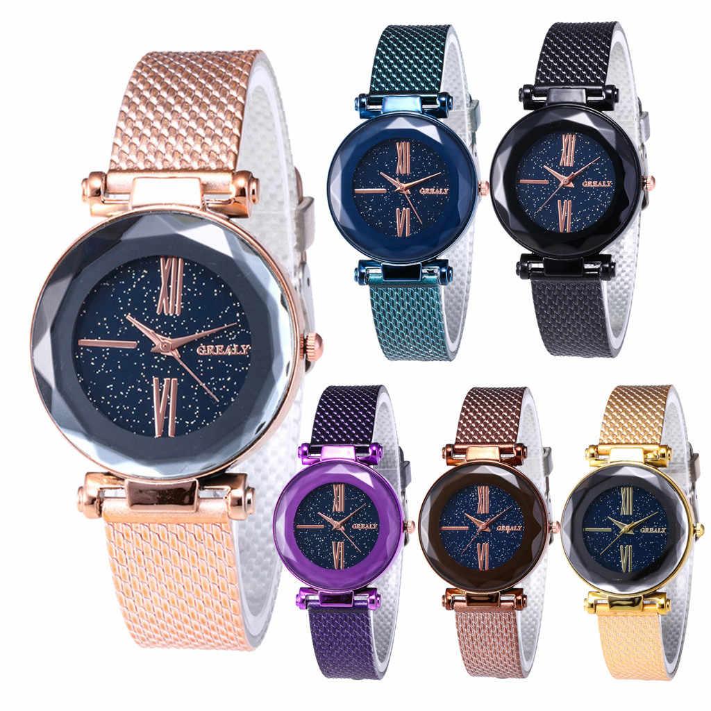 2019 חדש אופנה נשים חכם שעונים נשים קוורץ שעוני יד יוקרה נשים אופנה יוקרה פנאי פלסטיק רצועת קוורץ יד