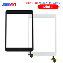 Full Tested Digitizer Touch Screen For Apple iPad mini 1 A1432 A1454 A1455 Front Glass Lens with Home Button+IC