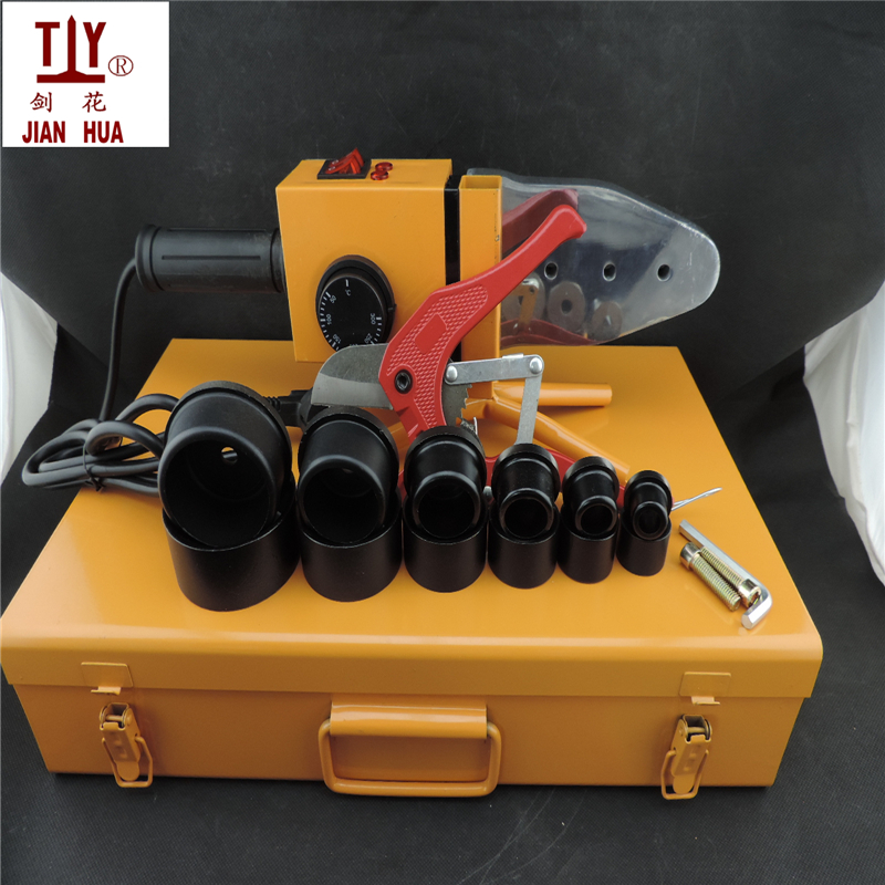PPR tube welding machine with apipe scissors AC 220V 1500W DN20-63mm PPR pipe welding plastic pipes apparatusPPR tube welding machine with apipe scissors AC 220V 1500W DN20-63mm PPR pipe welding plastic pipes apparatus