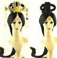 han dynasty hair wig chinese ancient princess wig ancient chinese hair cosplay long black hair wigs