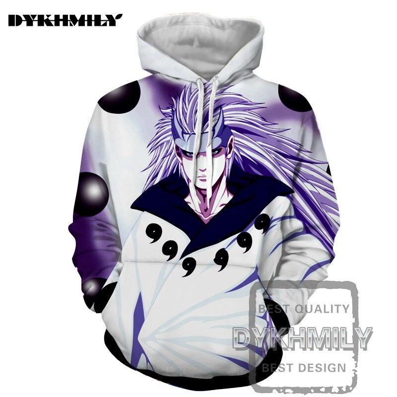Dykhmily Naruto personaje de Anime blanco Pelo Largo 3d