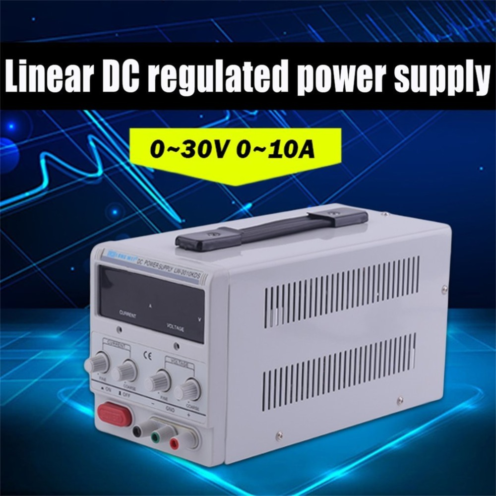 1 pc Universel DC 0-30 V Laboratoire Variable Réglable alimentation Réglable Alimentatore Variabile Regulador de Voltaje 0-5A