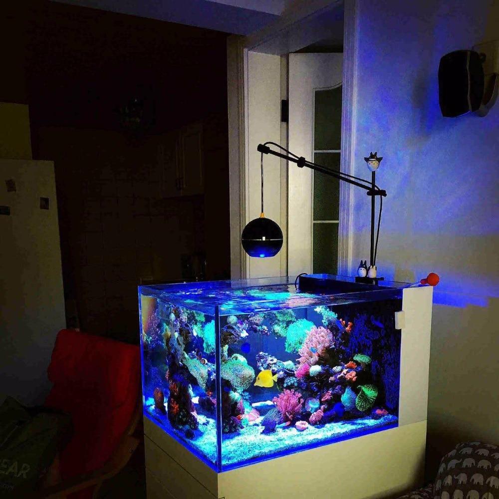 LED light coral grow marine reef tank white blue aquarium