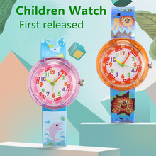Casual children's watch candy multicolor cartoon animal student child w