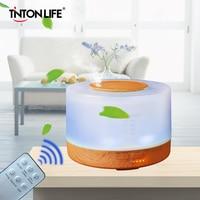 TINTON LIFE 500ml Colorful LED Light Aromatherapy Air Humidifier Ultrasonic Mist Maker