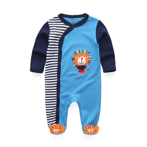New 2019 Cute Baby Jumpsuit Comfortable Clothing Long Sleeve Baby Girl Clothes Cotton Baby Rompers Roupas de bebe Boy Clothes Pakistan