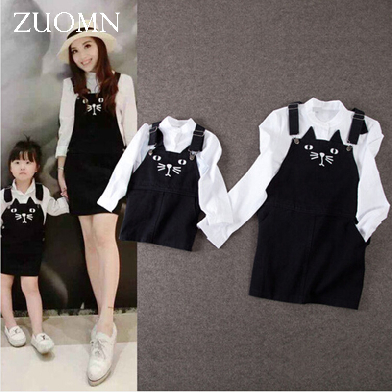 Family Matching Clothes For Mother and Daughter Dresses Sets Family Look Outfits Kid Mommy and Me Daughter Blouse Overalls GH201 akd car styling led fog lamp for ford transit drl 2009 2015 led daytime running light fog light parking signal accessories