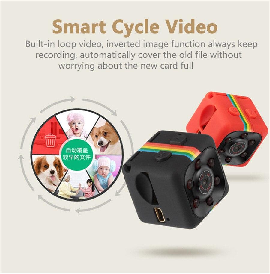 FULL HD SQ11 1080P MINI Camera Cam Night Vision Sport Video Sound Voice Recorder Espia Nanny