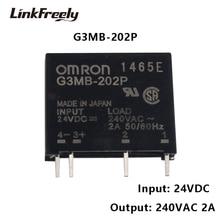 G3MB-202P 100pcs PCB SSR Voltage Relay Module 24VDC Input 240V 2A Output DC Control AC Micro Solid State Relay 5V 12V new solid state relay art nr 2966595 art nr 2966595 24vdc artnr2966595 artnr 2966595 2a 24v 24vdc dc24v dip4