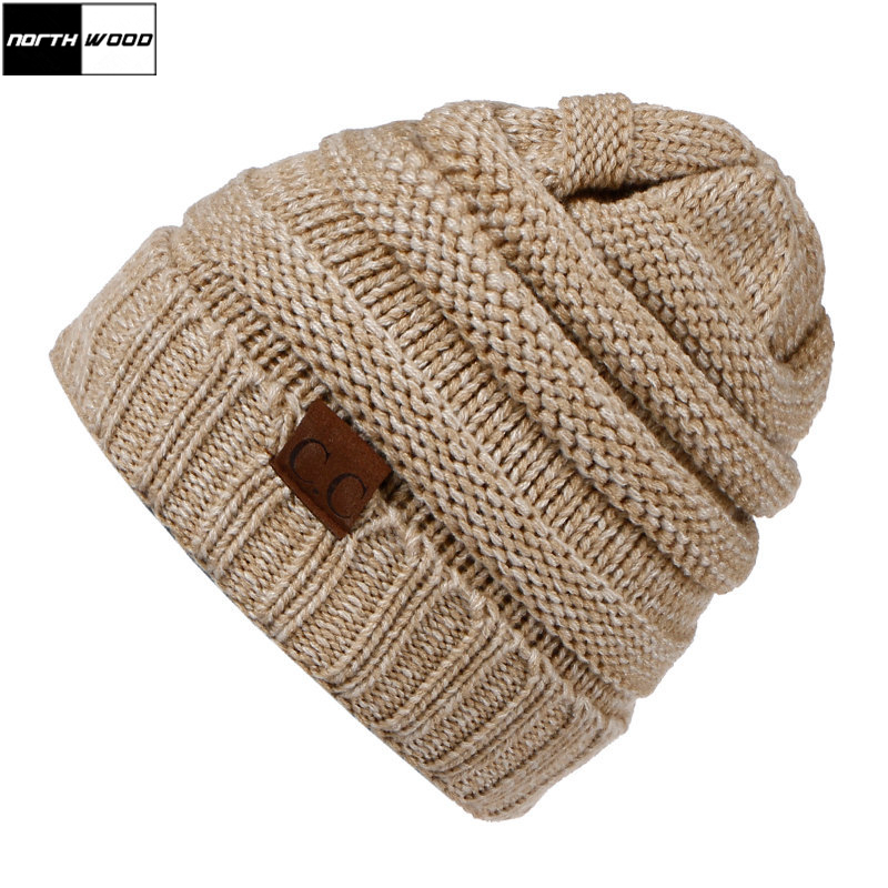 [NORTHWOOD] Fashion Winter   Beanie   Hat For Women Men Wool Warm Winter Hats For Women Gorros Mujer Invierno   Skullies     Beanies   Cap