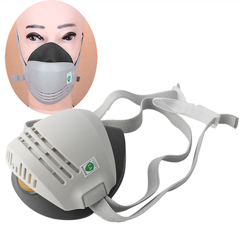 1PC Anti-Dust Respirator Masks Gas Mask Respirator Mask for Welder Welding Paint Spraying Cartridge for switch the new 2017 gas mask medical silicone paint dust dust respirator masks spraying pesticide chemical activated carbon industry