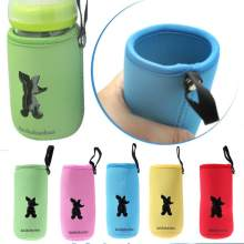 Milk Bottle Insulation Bag Cup Hang Warmer Thermal Bottle Cover Mummy Pouch Bottle Feeding Accessories 14*7cm(China)