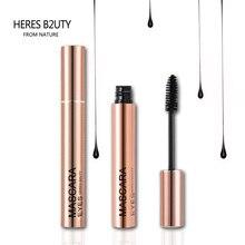 NEW HOT-SELL Brand HERES B2UTY 3D Fiber Long Lash Waterproof Mascara Lengthening Thick Cosmetics Black 3D Mascara High Quality