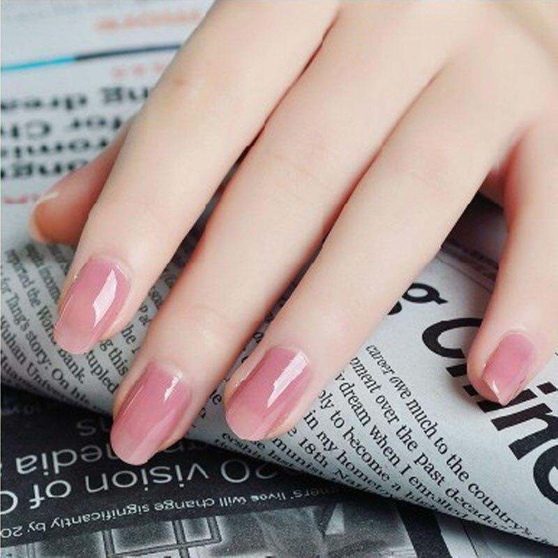 Uv Gel Polish Pinkwhiteclear Transparent 3 Color Nail Art Crystal