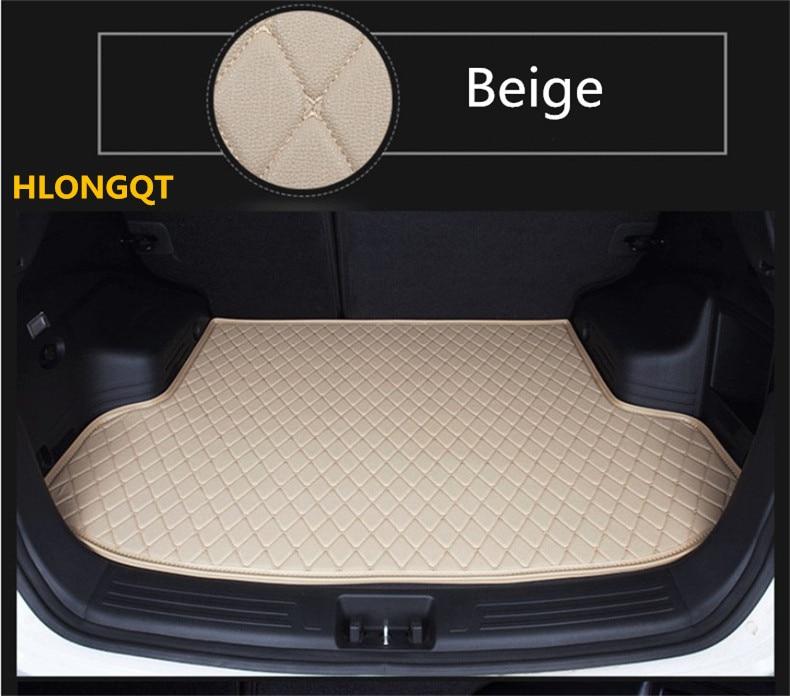 Высокое качество ствола коврики для Audi A7 S7 RS7 2017.2018 брюки карго лайнер загрузки коврик вышивка кожа Бесплатная доставка