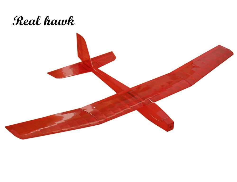 RC самолет лазерной резки самолетик из пробкового дерева красный дикий гусь моторный планер размах крыльев 1250 мм Balsa деревянная модель строительный комплект