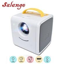 Salange Q2 Kids Video Projector Mini HD Projector 3D LED TV