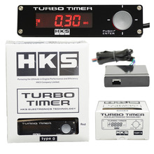 Универсальный цифровой автоматический турбо-таймер Boost Gauge красный светодиодный контроль(Тип 0) с индикатором напряжения