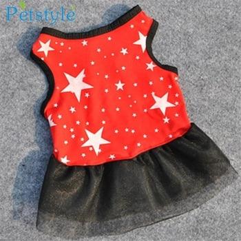 Hot!Pet Dog Puppy Tutu Princess Dress Dot Lace Skirt Party Costume Apparel jan25