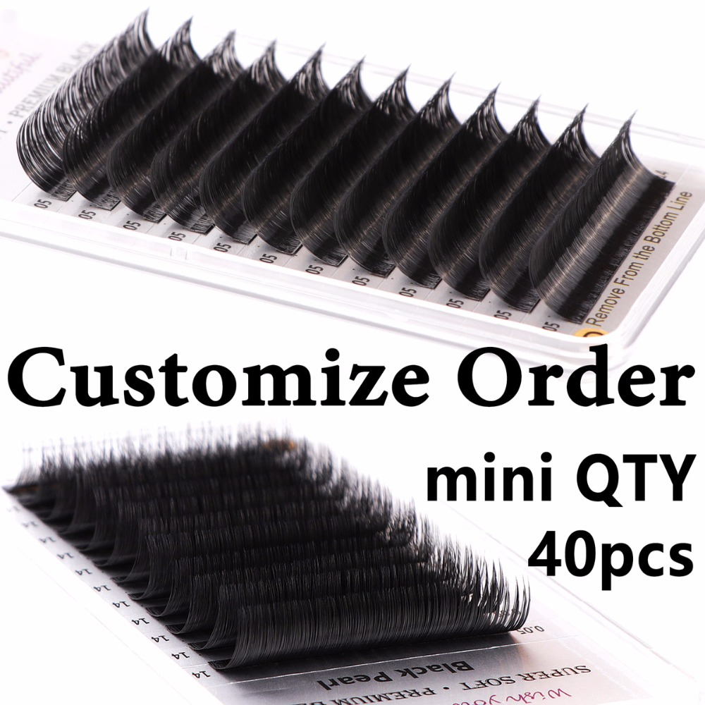 Customize Lash Order for VIP Clients ( Faux Mink, Pandora, Camellia, Flat Ellipse, Real Mink )-in False Eyelashes from Beauty & Health    1