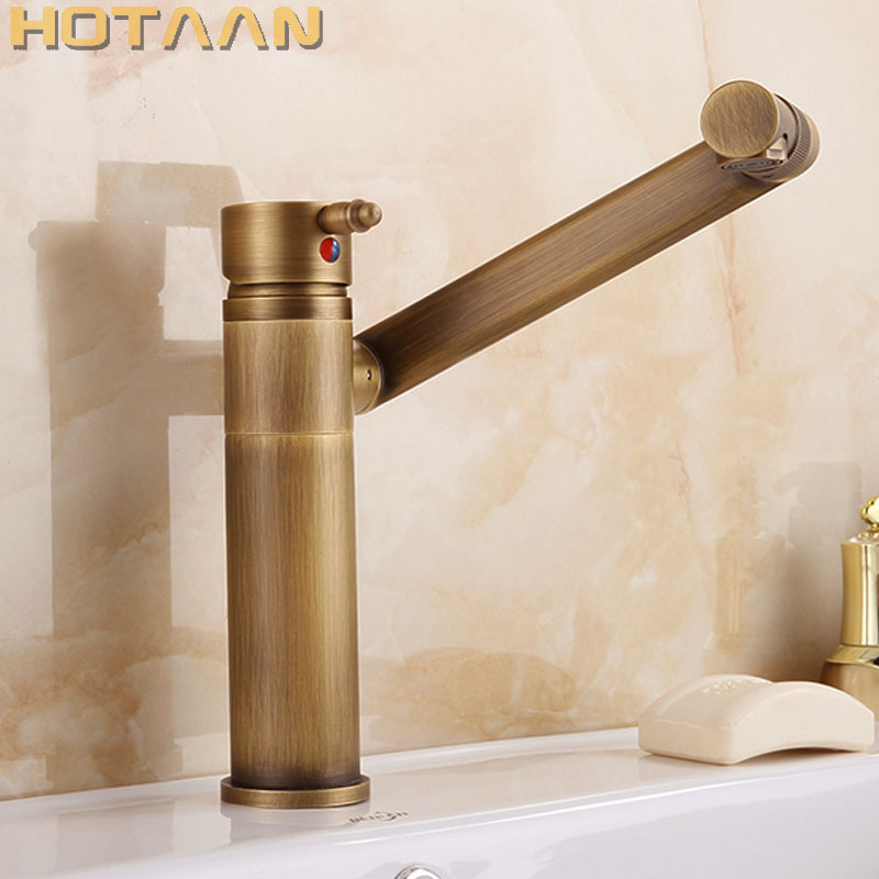 Hot selling,Free shipping Antique Brass basin faucet, bathroom faucet ,basin mixer , basin tap torneira YT-5076Hot selling,Free shipping Antique Brass basin faucet, bathroom faucet ,basin mixer , basin tap torneira YT-5076