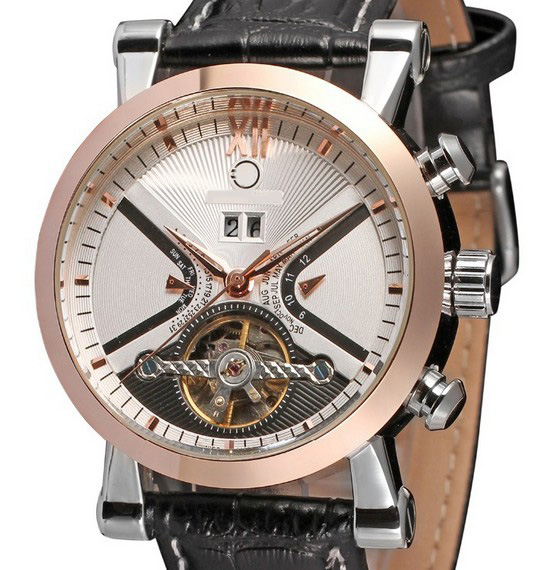 Man Mechanical Watch Automatic Self Wind Leather Wristwatch Top Brand Fashion New Stylish Male Classic Watches Relojs LZ322 2015 new fashion brand pu leather strap men automatic mechanical watch skeleton self wind watch for man dress casual wristwatch