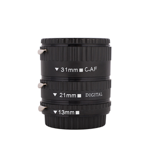 Image 2 - Kaliou 13mm 21mm 31mm Auto Focus Macro Extension Tube Set für Canon EF EF S Objektiv Canon 700d t5i 7d 5d Schwarz Rot Silber farbe
