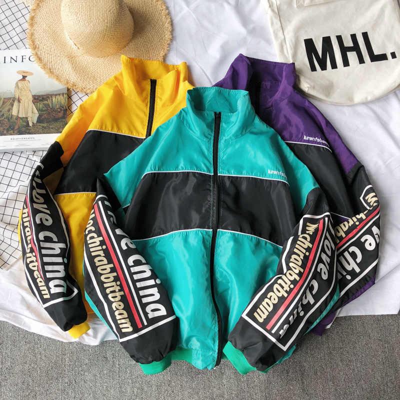 Brand 2019 Lente Herfst Jas Mannen Dunne Jas Heren Jas Streetwear Minnaar Kleding Windjack Man Hip Hop Hooded Bomber Jacket