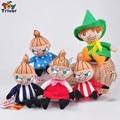Wholesale 50pcs plush Japan Moomin Valley Little My stuffed toys keychains keyring pendant Accessories handbag Bag Purse gift